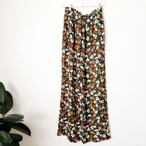 Flying Tomato  Floral Wide leg Palazzo Pants 276